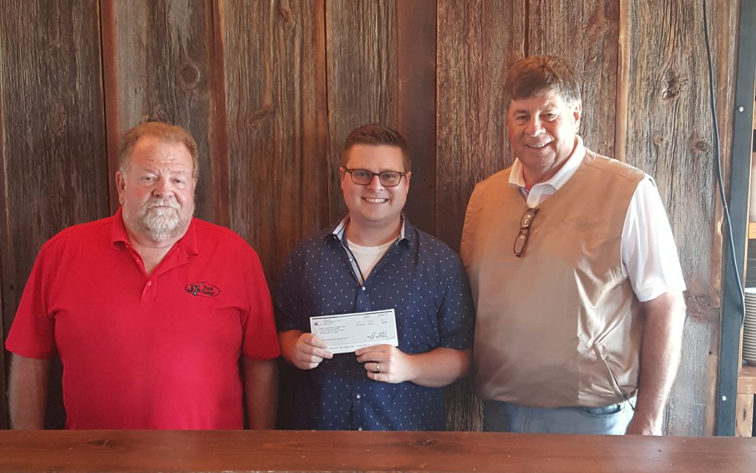 JX Enterprises & Employees Donate $1,025 to The Randy Schopen Foundation